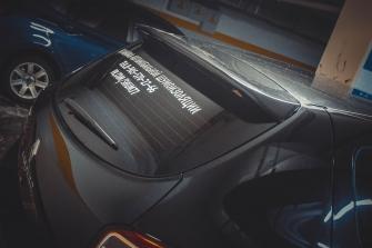 СПОЙЛЕР №1 «KART RS NEW» для Рено Сандеро Степвей / Сандеро