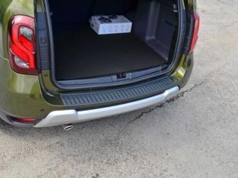 Накладки на боковины в багажнике