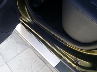 Накладки в проемы дверей (передние + задние) для Рено Дастер рестайлинг с 2015 г.в.