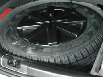 Бокс в запасное колесо