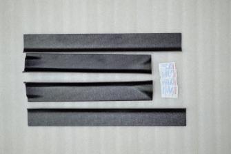Накладки проемов дверей «KART RS» (передние + задние) для Рено Сандеро / Степвей