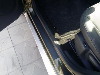 Накладки в проемы дверей (передние + задние) для Ниссан Террано с 2016 г.в.