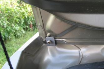 Спойлер №1 «KART RS»  для Рено Сандеро / Степвей